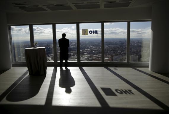 Las oficinas del Grupo OHL en Madrid