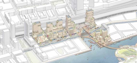 Así era el megaproyecto inmobiliario de Google en Toronto