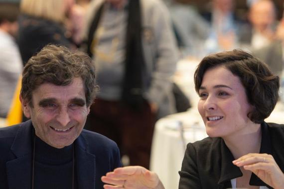 Adolfo y Adriana Domínguez, fundador y presidenta ejecutiva de la firma de moda ourensana