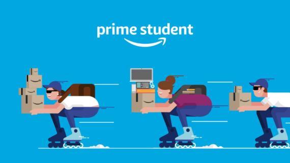 3 meses GRATIS con Amazon Prime Student