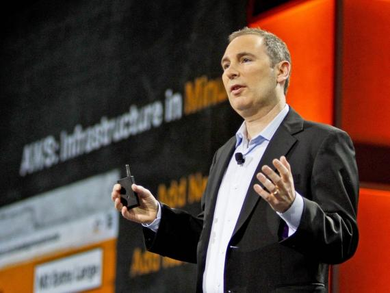 Andy Jassy, CEO de Amazon Web Services.