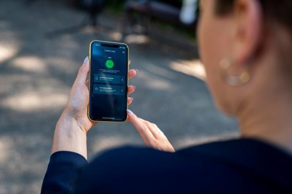 La app Smittestop de Dinamarca para rastrear los contactos de COVID-19