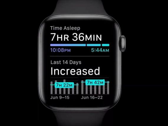 The Apple Watch is finally adding sleep tracking — the big feature it's been missing that Fitbit has offered for years