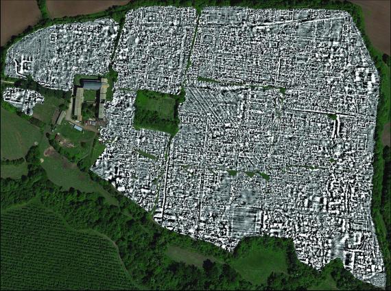 Los arqueólogos descubrieron una antigua ciudad enterrada a 30 millas de Roma sin haberla desenterrado nunca