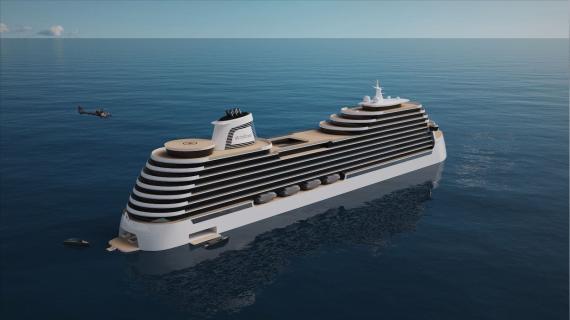 El barco contará con 627 residencias y capacidad para 1.000 pasajeros