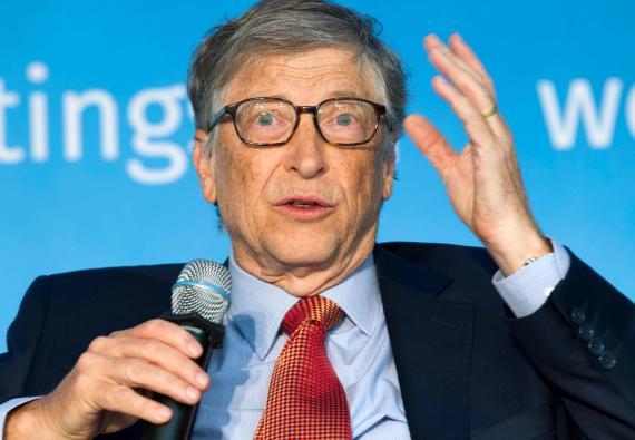 El multimillonario Bill Gates.