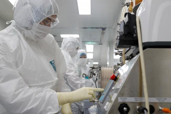 Búsqueda de una vacuna contra el coronavirus en Rusia