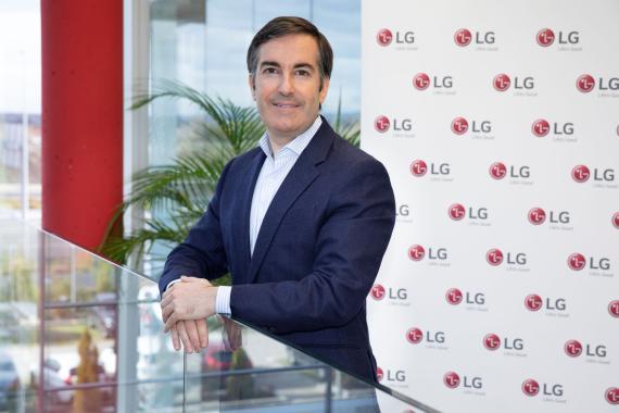 Carlos Olave, director global de recursos humanos en LG.