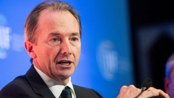 El CEO de Morgan Stanley, James Gorman