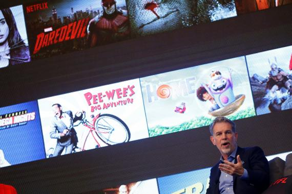El CEO de Netflix, Reed Hastings.