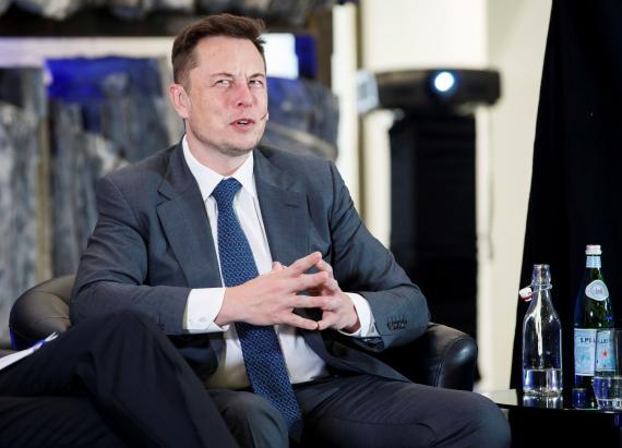 El CEO de SpaceX, Elon Musk.