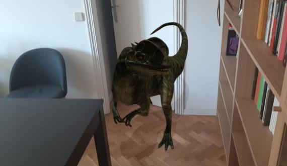 Cómo ver dinosaurios en casa con la funcionalidad de Google