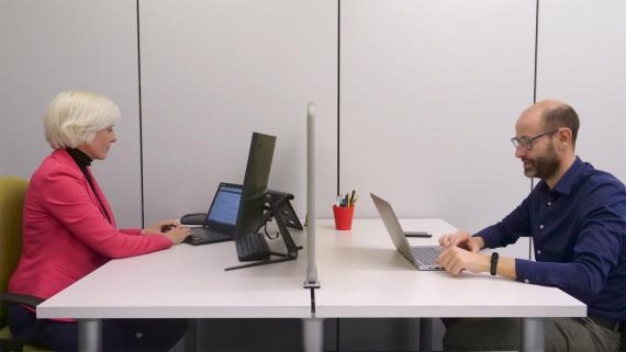 Dra. Beatriz Llamusí y el Dr. Ruben Artero, fundadores de Arthrex Biotech.