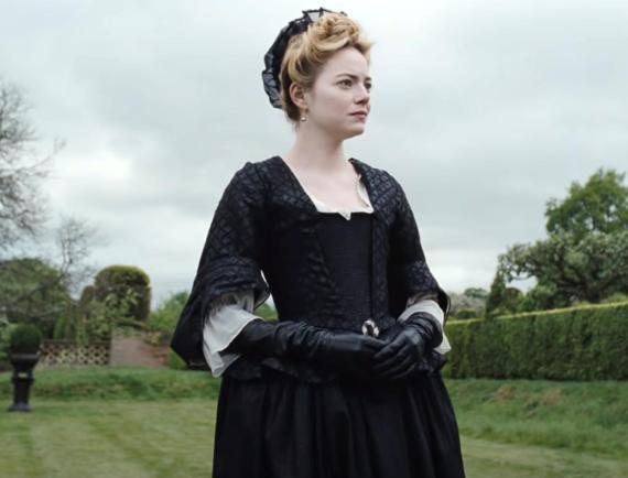 Emma Stone en La favorita