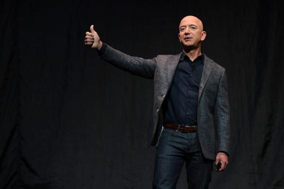 El fundador, CEO y presidente de Amazon, Jeff Bezos.