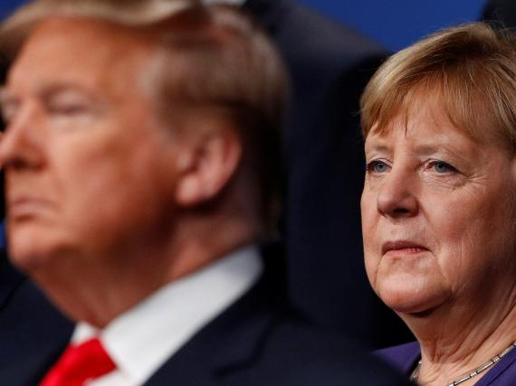 German officials were so alarmed by Trump's conversations with Angela Merkel that they took extra steps to make sure they stayed secret, according to a CNN report
