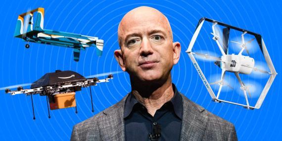 Jeff Bezos y los secretos de Prime Air