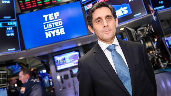 José María Álvarez-Pallete, CEO de Telefónica.