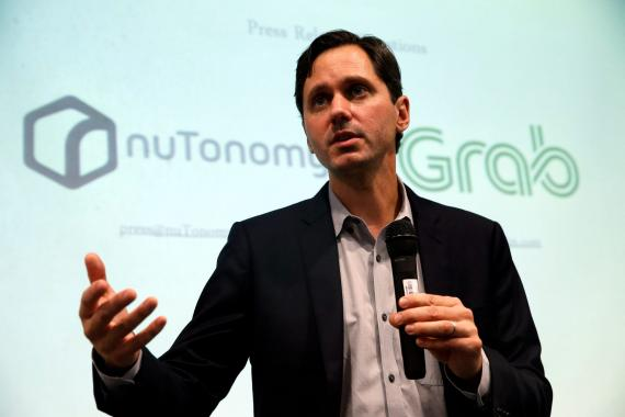 Karl Iagnemma, CEO de Hyundai y Aptiv.