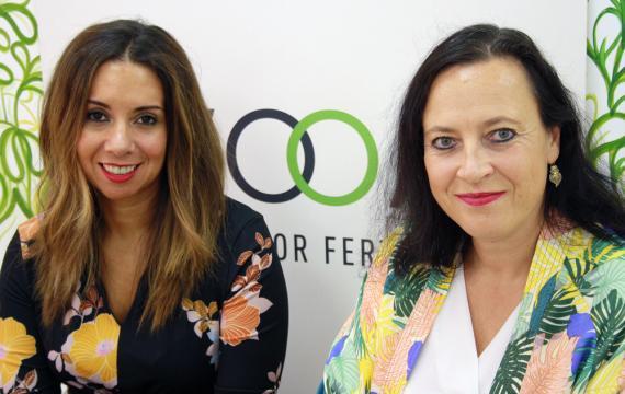 Laurence Fontinoy y Clelia Morales, fundadoras de Woom.