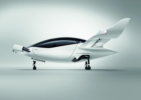 El coche volador Lilium Jet.