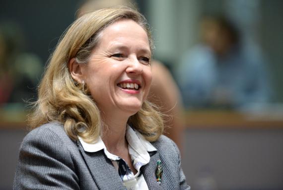 Nadia Calviño, vicepresidenta tercera del Gobierno y ministra de Asuntos Económicos y Transformación Digital de España.