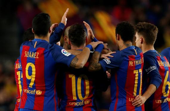 Partido del Fútbol Club Barcelona