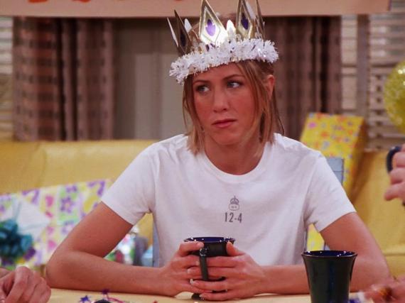 Rachel is the last friend to turn 30.