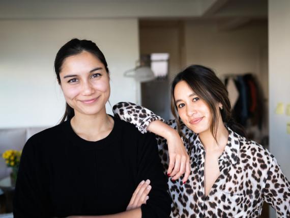 Sabrina Paseman (izquierda) y Megan Duong (derecha)
