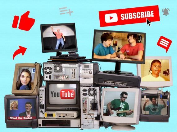 Algunos de los pioneros de YouTube, los 'influencers' de la época que ayudaron a construir la plataforma.