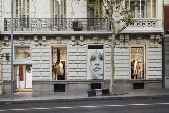 Una tienda de Pedro de Hierro en la calle madrileña de Serrano