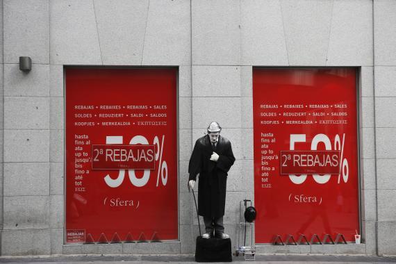 Una tienda de Sfera en rebajas  en Madrid