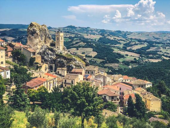 El pueblo de San Giovanni.