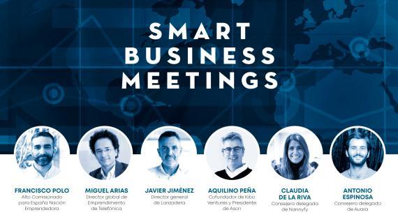 VIII Smart Business Meeting: presente y futuro del ecosistema emprendedor y las startups en España