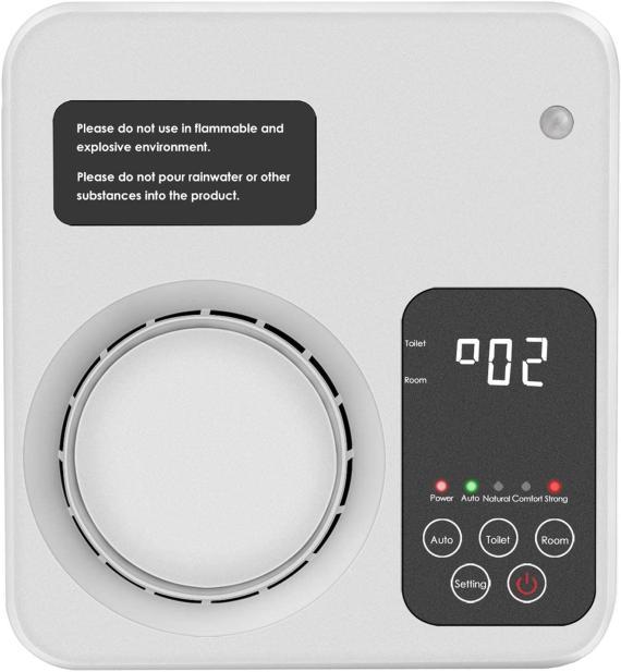 Purificador de aire y generador de ozono Wanxian