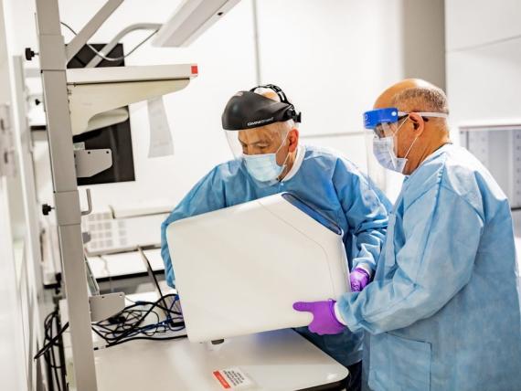 Amazon está construyendo su propio laboratorio de pruebas de COVID-19.