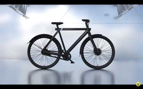 Un fotograma del anuncio de bicicletas eléctricas VanMoof censurado.