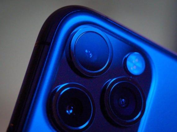 La cámara del iPhone 11 Pro.