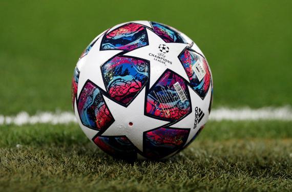 Un balón de la Champions League