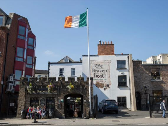 The Brazen Head in Dublin, Ireland, is the country's oldest restaurant.