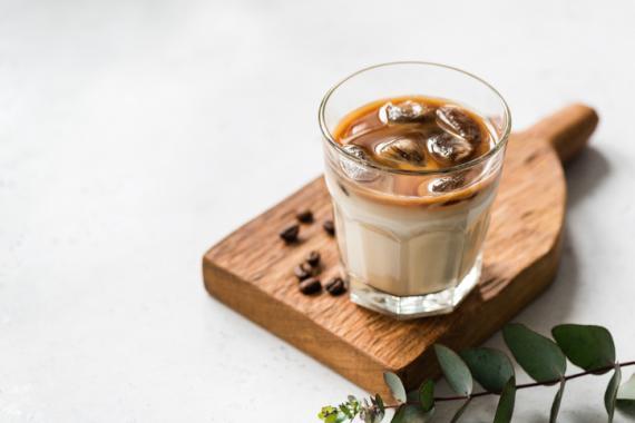 Café helado.