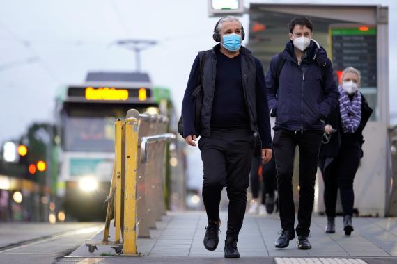 Coronavirus en Australia en invierno