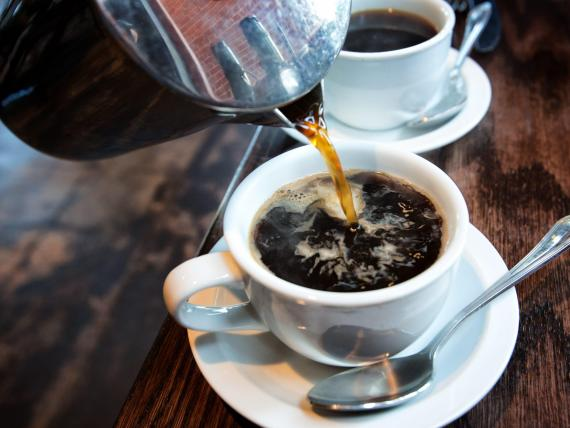 Drinking up to 5 cups of coffee a day has no long-term dangers and could even reduce risk of chronic illness, according to a review of 95 studies on coffee-drinkers