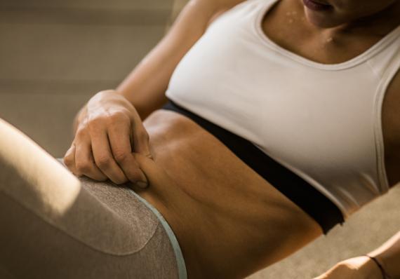 ejercicio, grasa abdominal