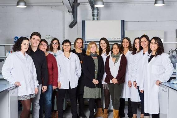 Integrantes del equipo de Archivel Farma.