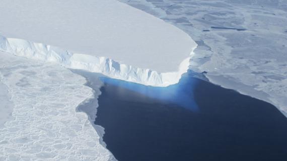 El glaciar de Thwaites en imágenes de la NASA