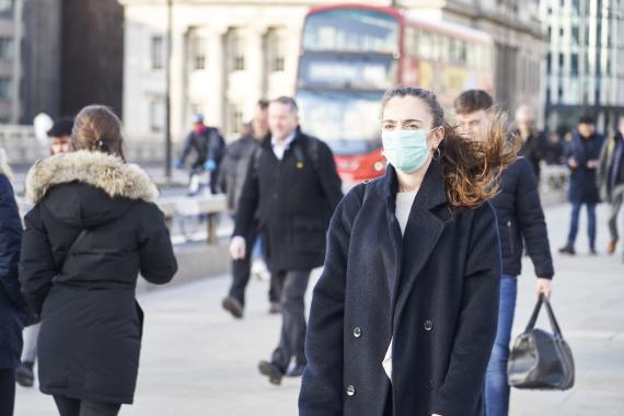Londres con coronavirus