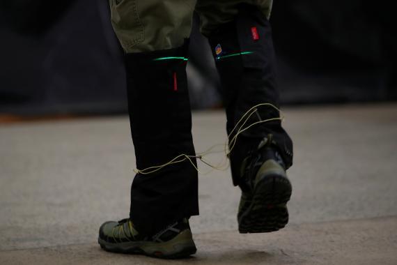 Material kevlar para uso militar.