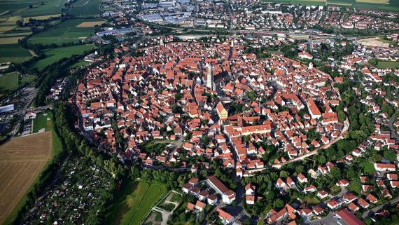 Nördlingen, en Alemania.