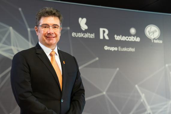 El CEO de Euskaltel, José Miguel García.